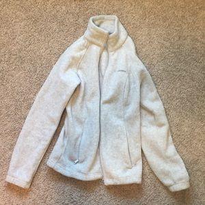 Columbia fleece zip up jacket.
